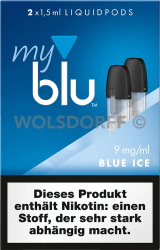 myblu Liquidpod Blue Ice