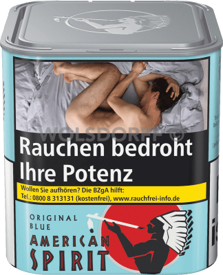 American Spirit Original Blue Dose 80 g