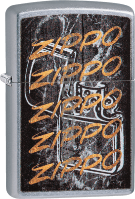 Zippo 60004230 #207 Zippo Gold Script