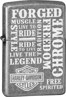 Zippo 60003487 #121FB Harley-Davidson® Forged