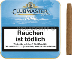 Clubmaster Blue Gold Mini 20er