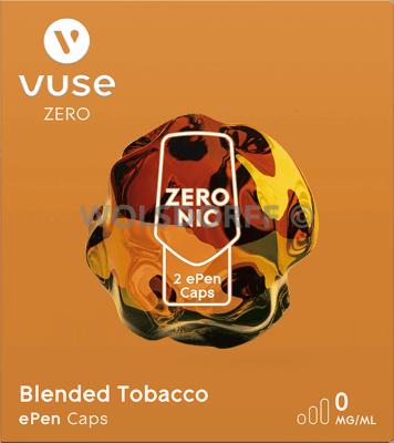 Vuse ePen Caps Nic Salts/Zero Nic Salts Blended Tobacco 2er