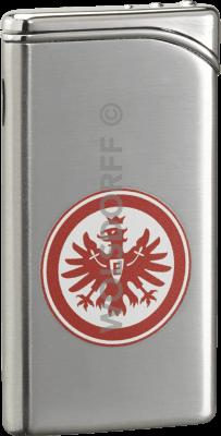 Feuerzeug Tempo chrom matt Eintracht Frankfurt