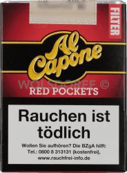 Al Capone Pockets Red Filter 18er