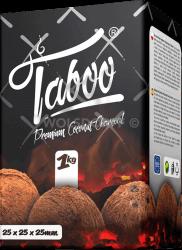 Taboo Premium Coconut Wasserpfeifen Kohle