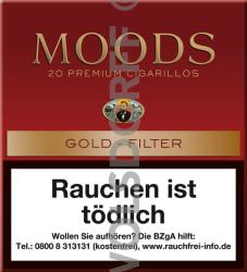 Dannemann Moods Gold Filter 20er