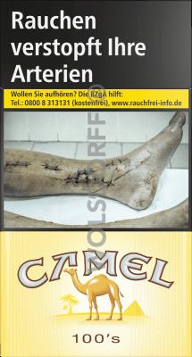 Camel Yellow 100 Original Pack (10 x 20)