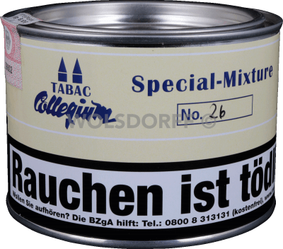 Tabac Collegium Special-Mixture No. 26