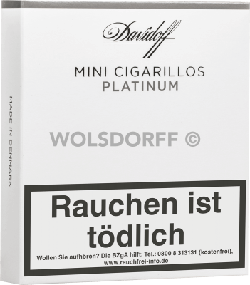 Davidoff Mini Cigarillos Platinum 20er