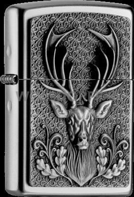Zippo 2004736 #205 Deerhead