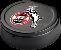 Aschenbecher mit Deckel 1. FC Köln