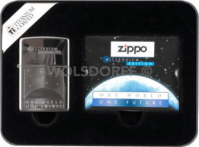 Zippo One world - One future Millennium Edition