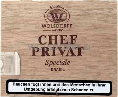 Chef Privat Speciale Brasil 25er