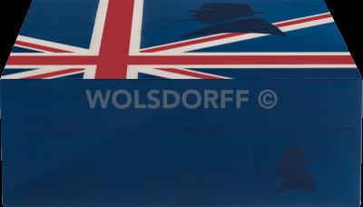 Davidoff Primos Humidor Winston Churchill Union Jack