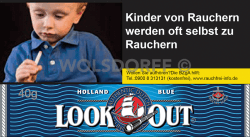 Look Out Holland Blue Pouch 10 x 40 g