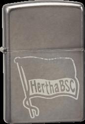 Zippo in Gray Dusk™ Hertha BSC Berlin