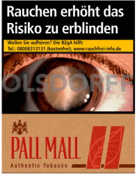 Pall Mall Authentic Red XXL (8 x 25)