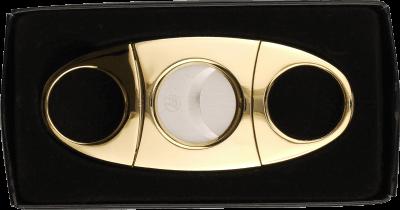 Zigarrenabschneider goldin poliert 23mm
