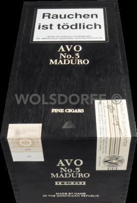 AVO Classic Maduro No. 3