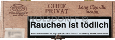 Chef Privat Long Cigarillo Brasil