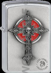 Zippo 2002005 #200 Gothic Cross Anne Stokes Emblem