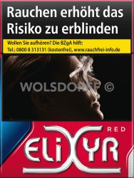 Elixyr Red Cigarettes XXXL (8 x 28)