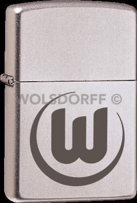 Zippo Chrom satin VfL Wolfsburg
