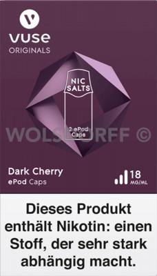 Vuse ePod Caps Nic Salts Dark Cherry 2er