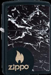 Zippo 60003344 #218 Black Marble Zippo
