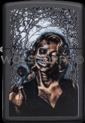 Zippo 60003810 #218 Goth Girl