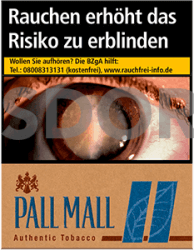 Pall Mall Authentic Blue XXL (8 x 25)
