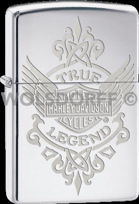 Zippo 60003122 #250 Harley-Davidson® True Legend