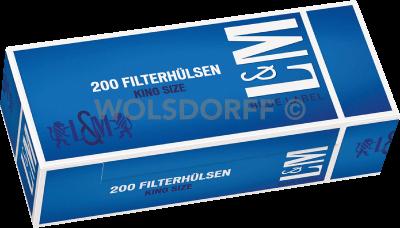L&M Blue Label Hülsen 5 x 200er