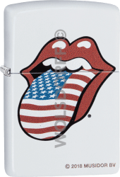 Zippo 60004208 #214 The Rolling Stones® USA Flag