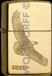 Zippo 60001332 #254B Eagle Brass