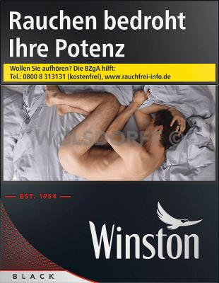 Winston Black Big Pack XXXXL (5 x 36)