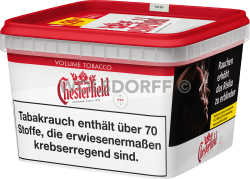 Chesterfield Red Volume Tobacco Mega Box 170