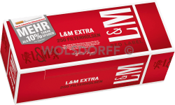 L&M Red Label Extra Hülsen 4 x 250er