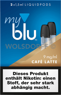 myblu Liquidpod Cafe Latte