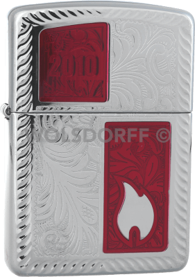 Zippo 2001775 Annual Lighter 2010 Limited Edition