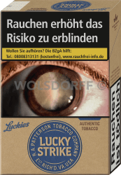 Lucky Strike Authentic Blue Original Pack (10 x 20)