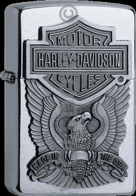 Zippo 60001207 #200 Harley-Davidson® Eagle Emblem