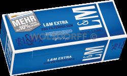 L&M Blue Label Extra Hülsen 4 x 250er