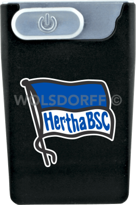 USB Card Lighter schwarz Hertha BSC Berlin