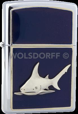 Zippo 310032 Shark Blue Depot