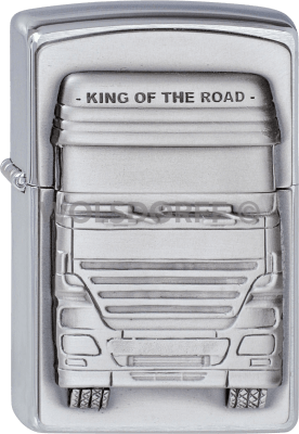 Zippo 1300176 #200 King of the Road Emblem