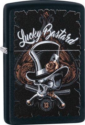 Zippo 60004112 #218 Skeleton Lucky Bastard