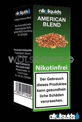 Nikoliquids American Blend