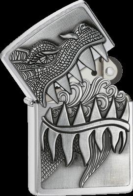 Zippo 60001621 #200 Dragon Surprise Emblem