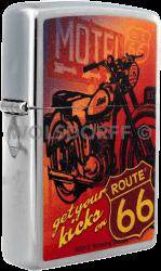 Zippo 810734 Route 66 Motorcycles